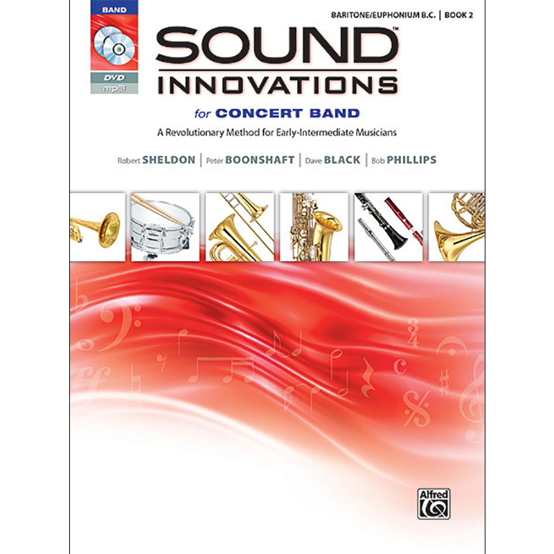 Sound Innovations for Concert Band BC Baritone book 2