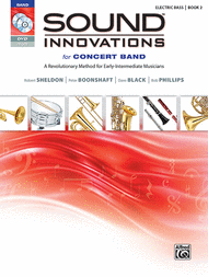 Sound Innovations for Concert Band Elec Bass book 2