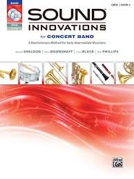 Sound Innovations for Concert Band Oboe book 2