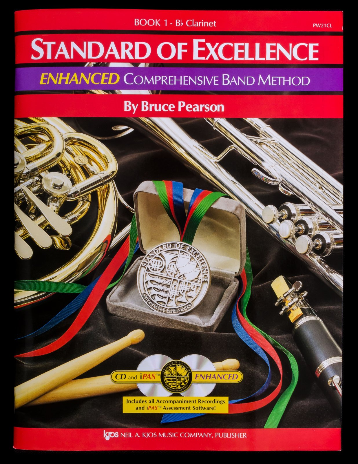 Standard of Excellence Clarinet book 1 Enhanced