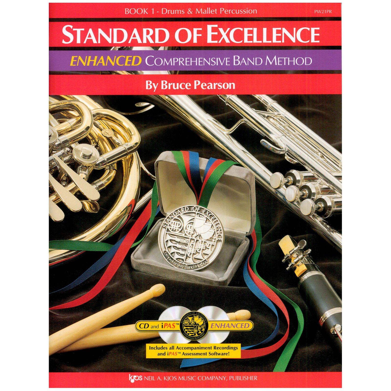 Standard of Excellence Drums & Mallet book 1 Enhanced