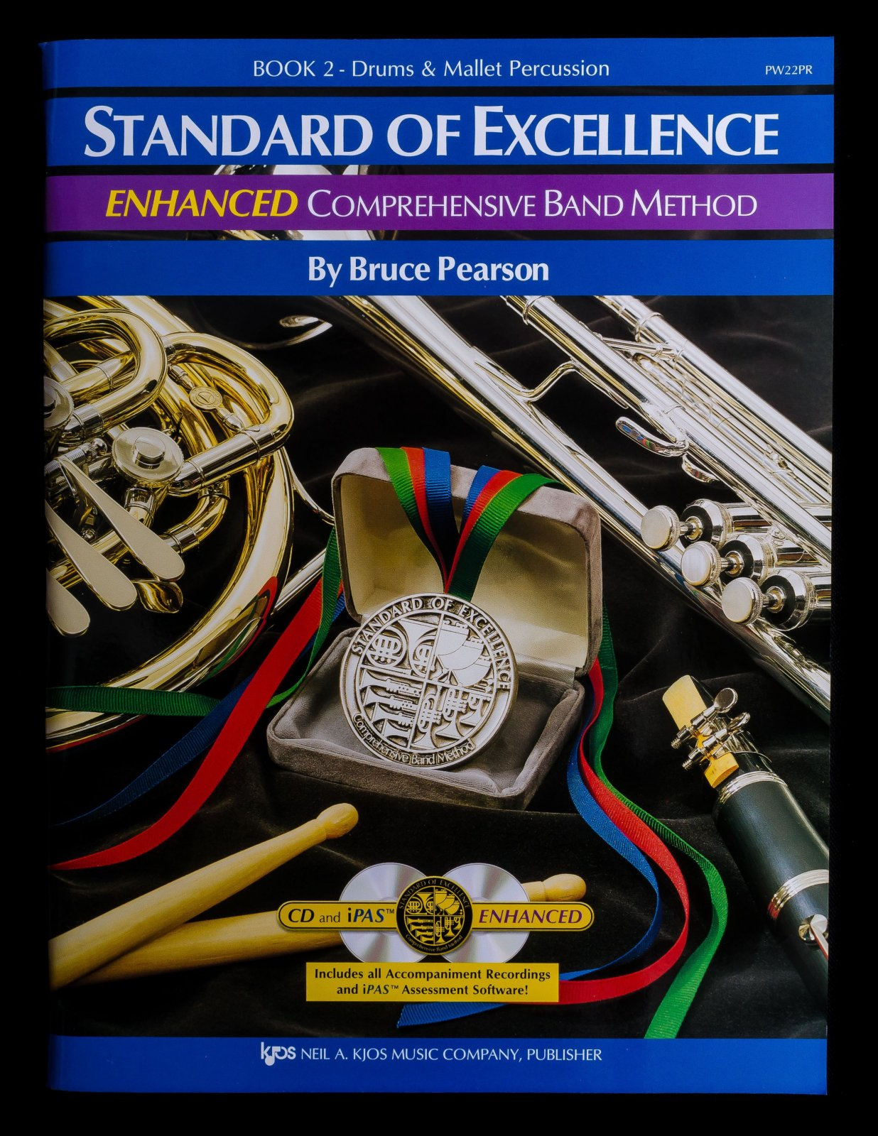 Standard of Excellence Drums & Mallet book 2 Enhanced