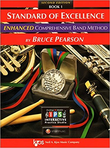 Standard of Excellence Tenor Sax book 1 Enhanced