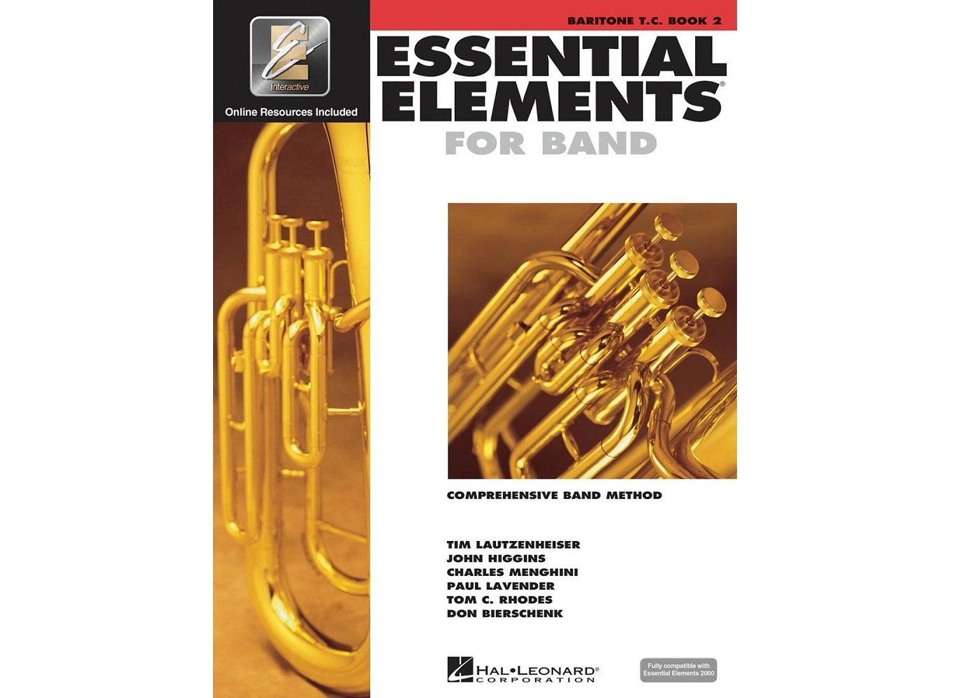 Essential Elements for Band TC Baritone book 2