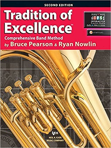 Tradition of Excellence BC Baritone book 1
