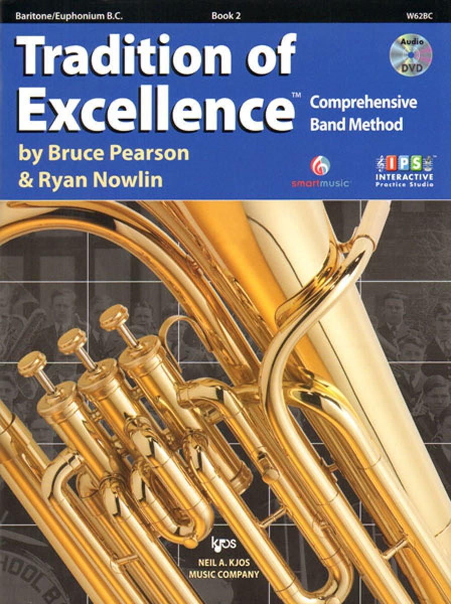 Tradition of Excellence TC Baritone book 2