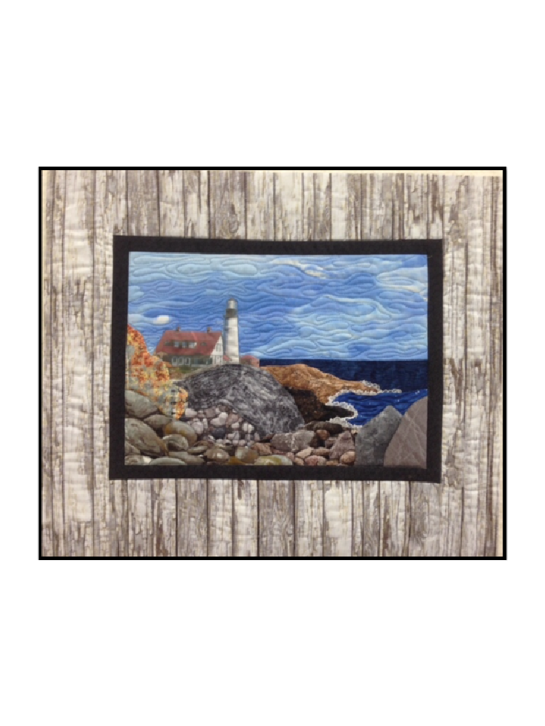 Portland Maine Lighthouse Wall Hanging