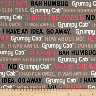 Grumpy Cat Words