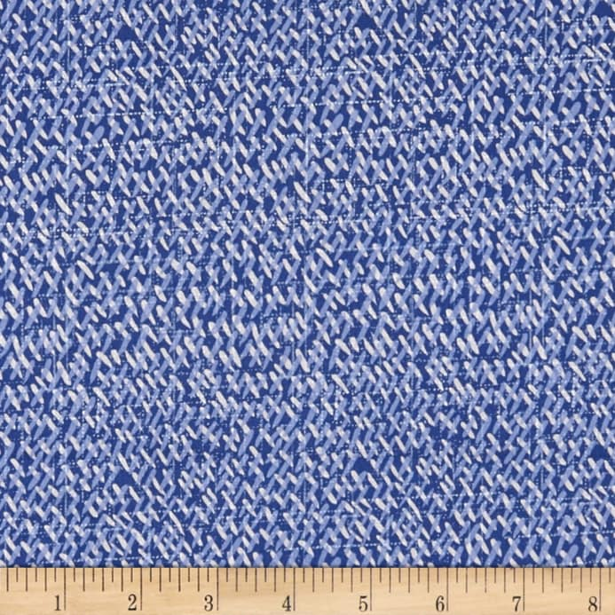 9141-75 Dashes, Moody Blues by Blank Quilting