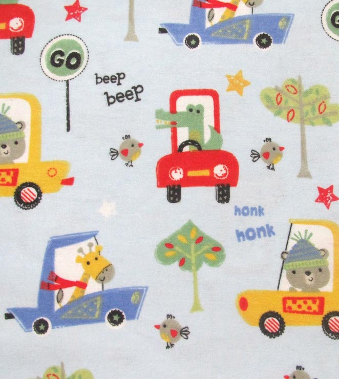 Animals In Cars Flannel