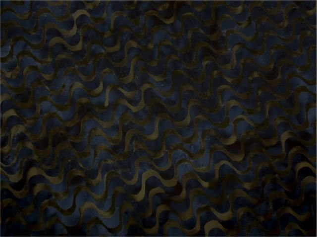 Komo Batik  Brown/Blue
