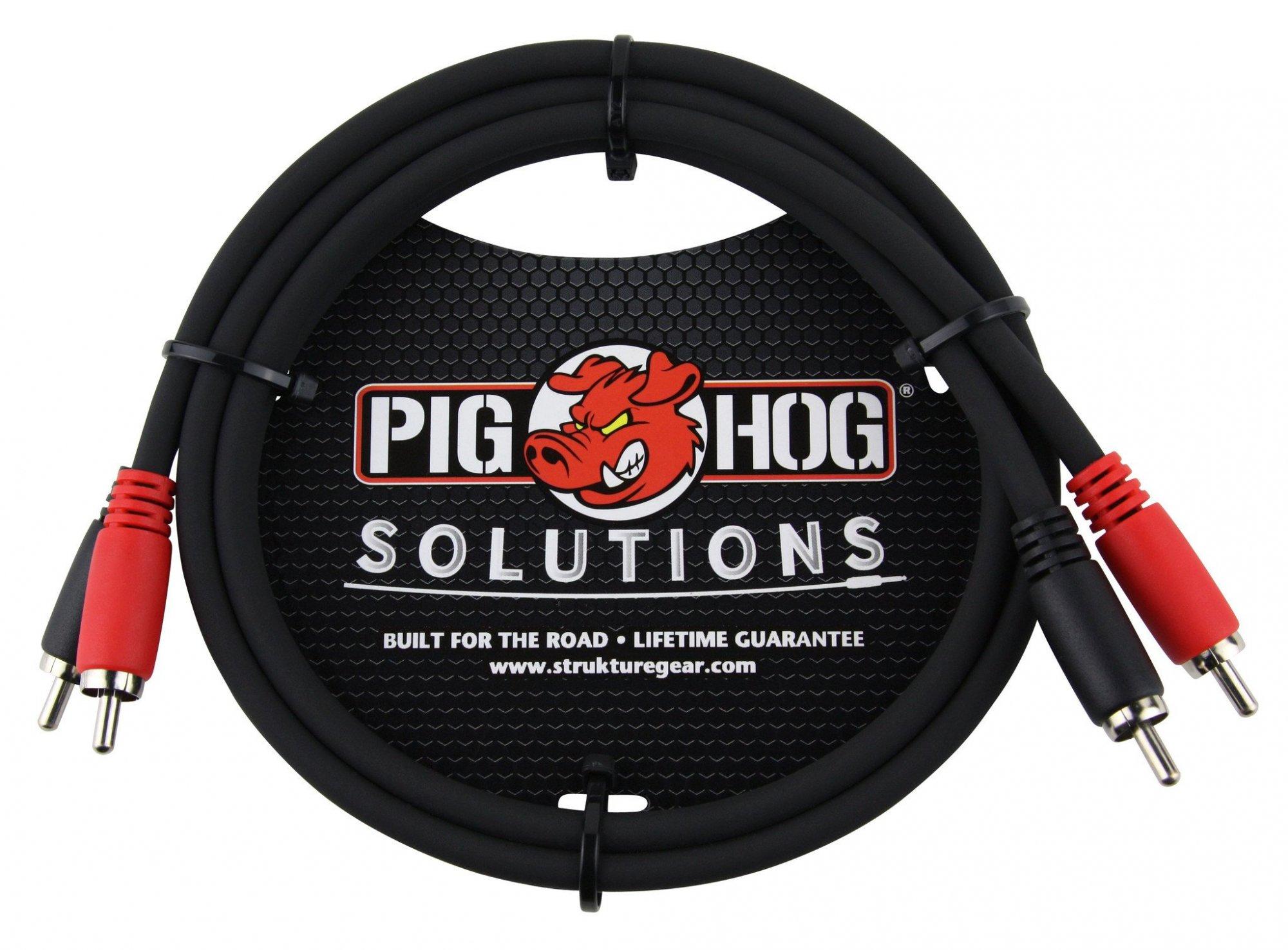 Pig Hog RCA Cables