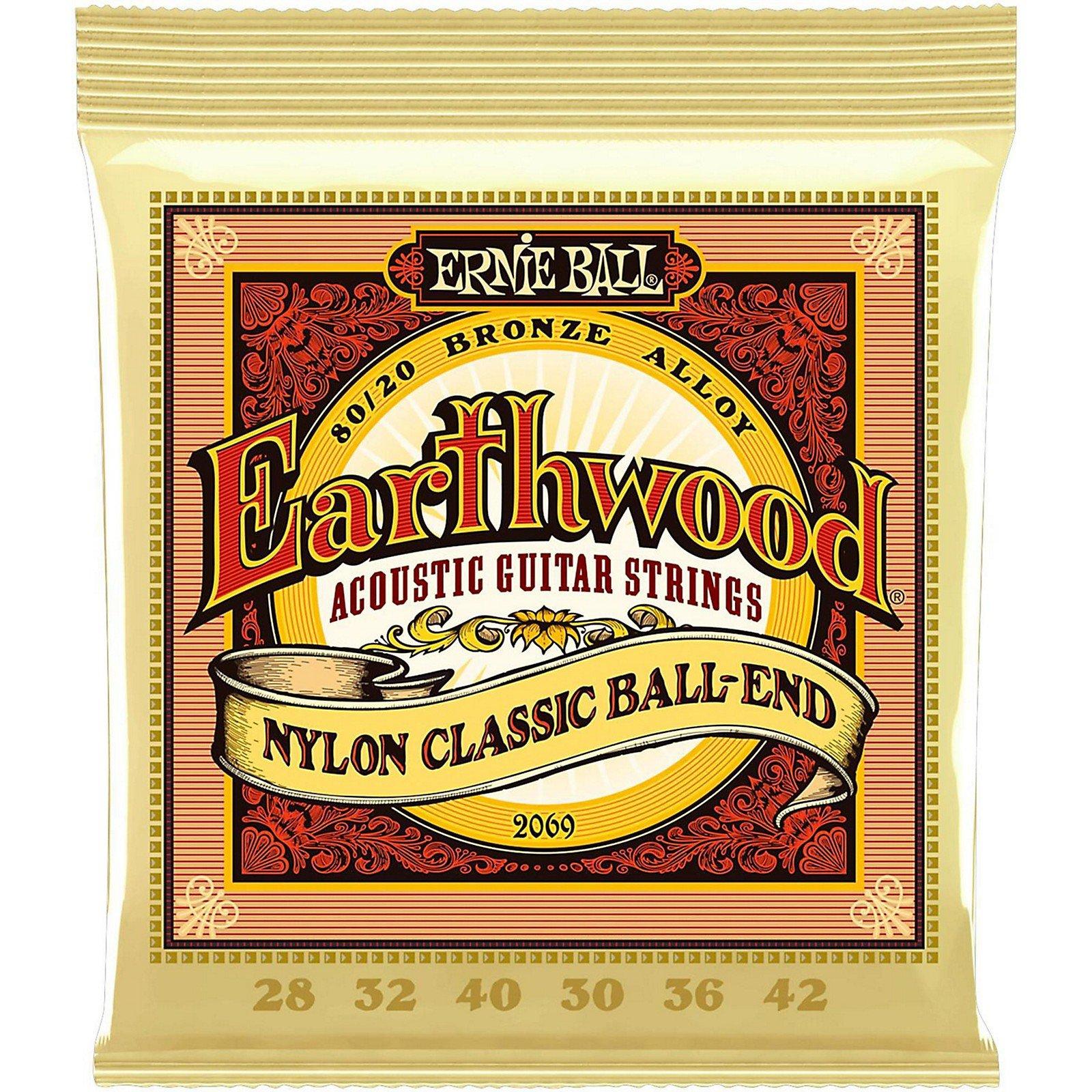 Ernie Ball 2069 EW Nylon Ball End