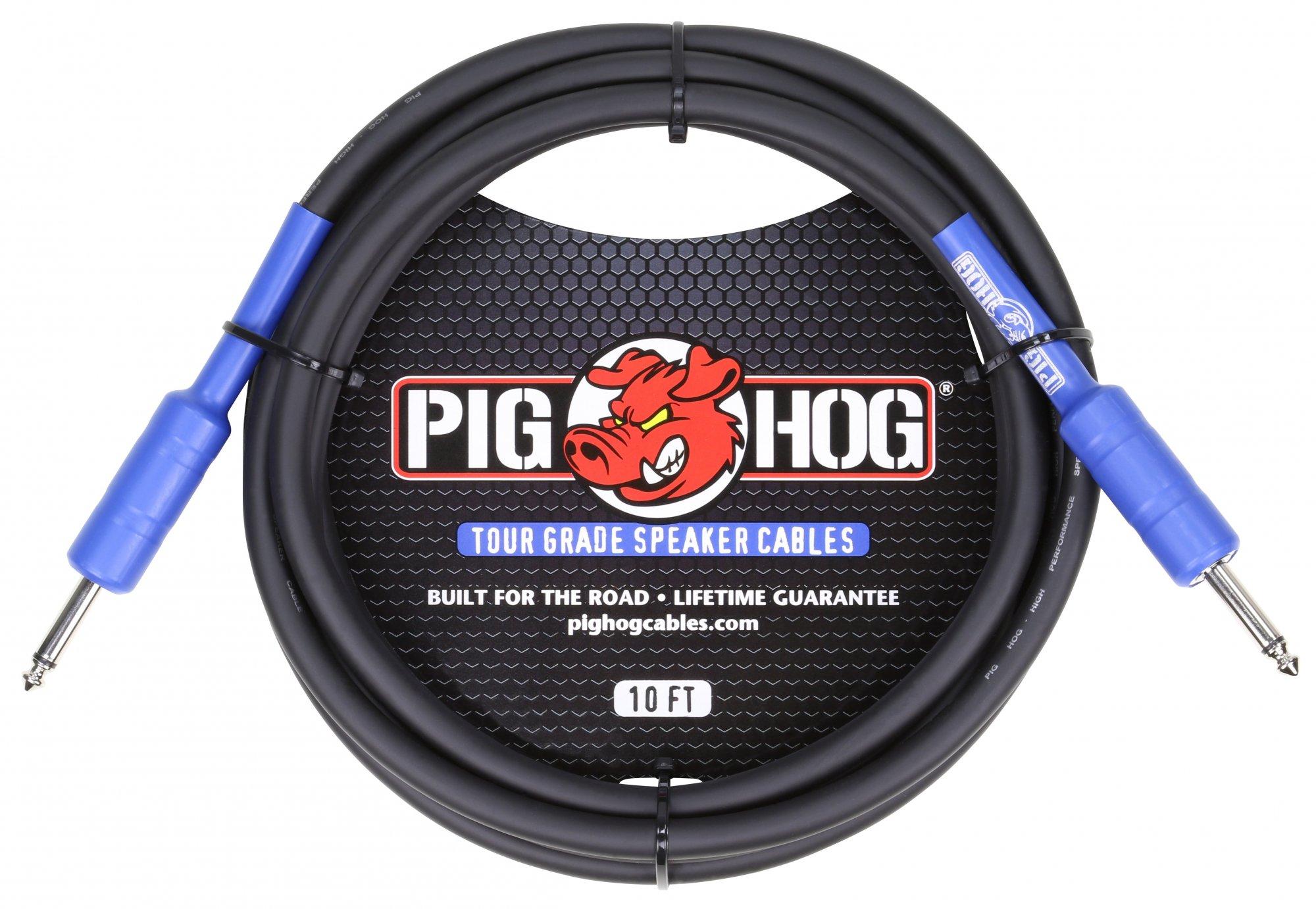 Pig Hog 1/4 Speaker Cable 10'