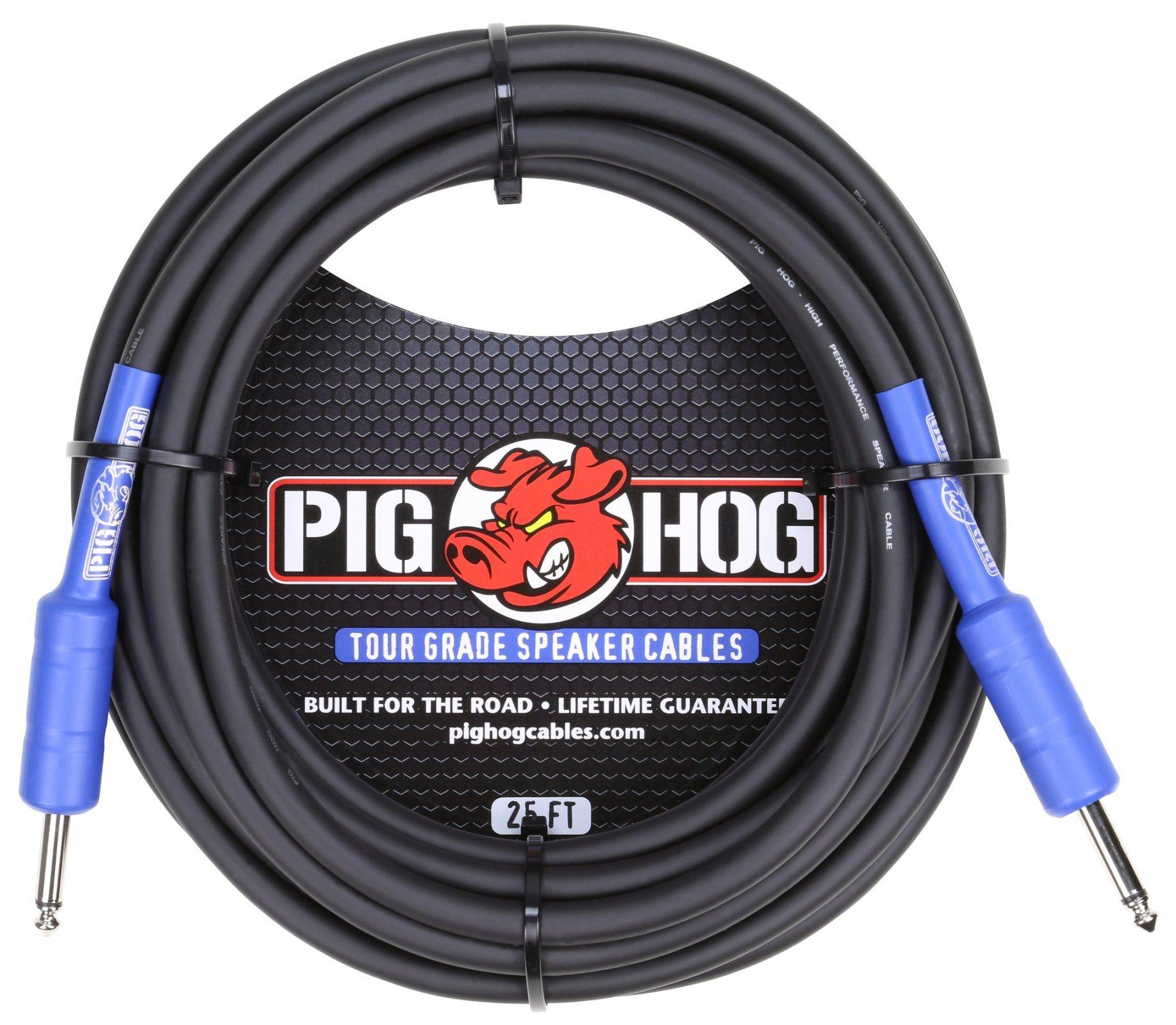 Pig Hog 1/4 Speaker Cable 25'