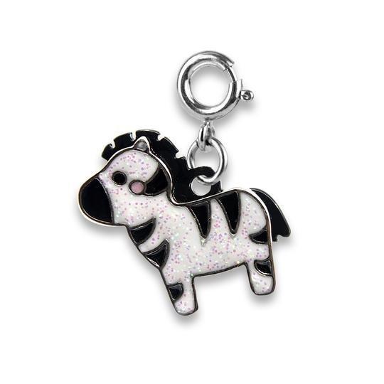 Charm It - Glitter Zebra
