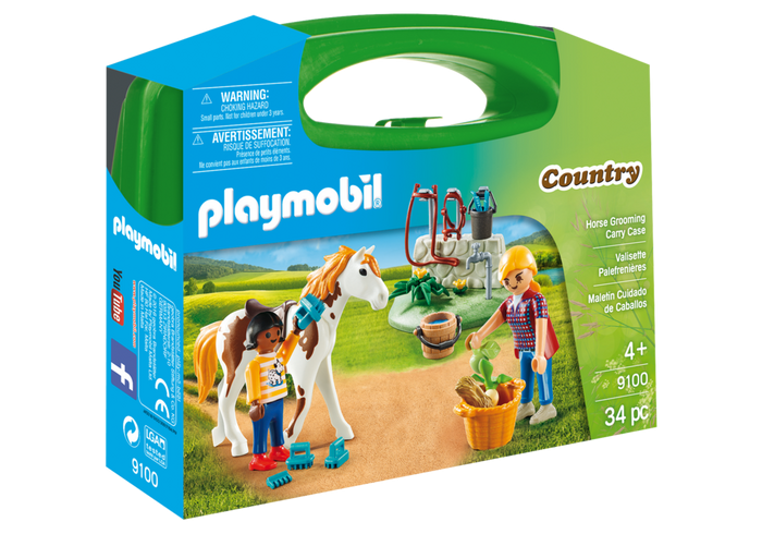 Playmobil 9100 Country - Horse Grooming Carry Case
