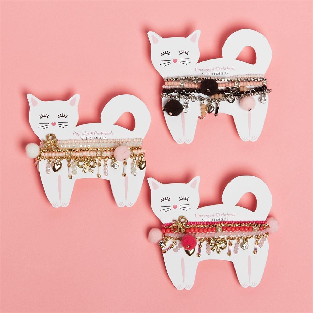 Cupcakes & Cartwheels Purfect Cat Bracelets