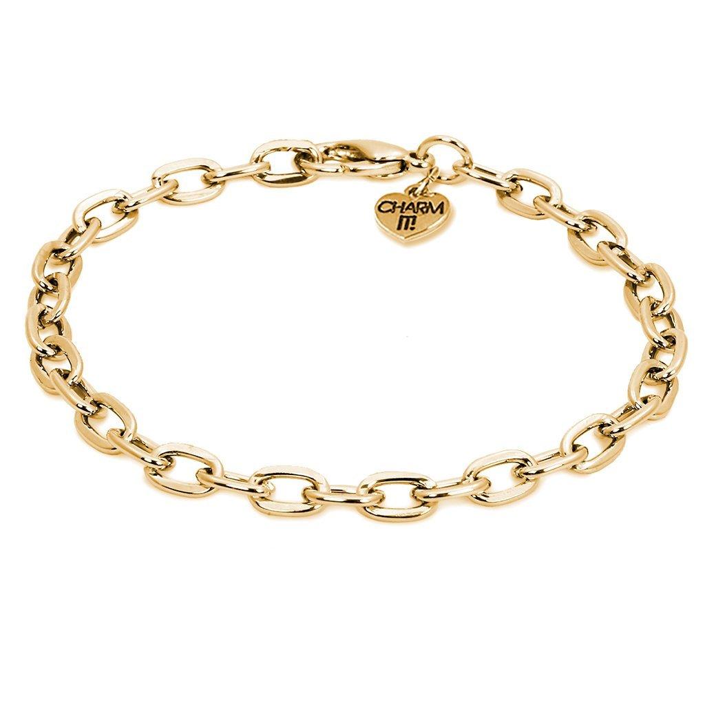 Charm It - Gold Chain Bracelet