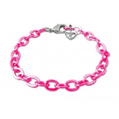 Charm It - Pink Bracelet