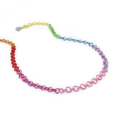 Charm It - Rainbow Chain Necklace