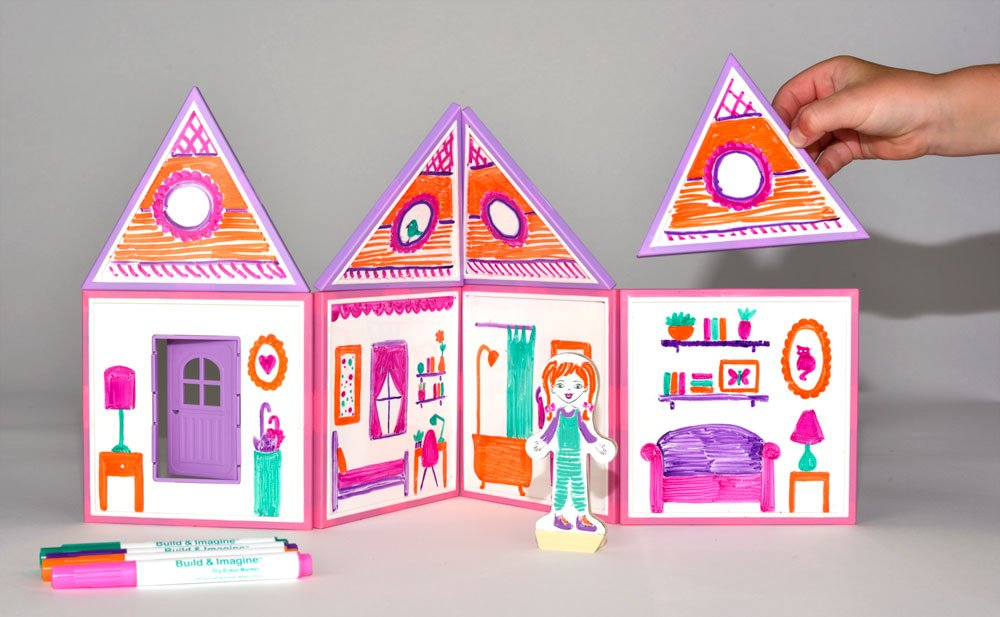 Build Imagine Draw Build Dollhouse 868691000200