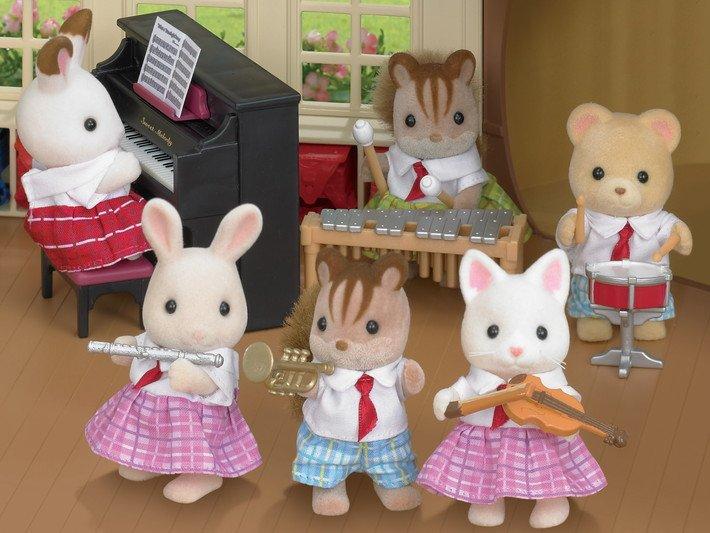 Calico Critters School Music Set - 020373214859