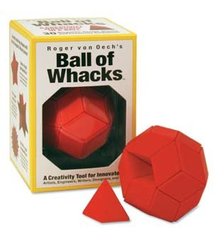 Creative Whacks Ball Of Whacks - Red