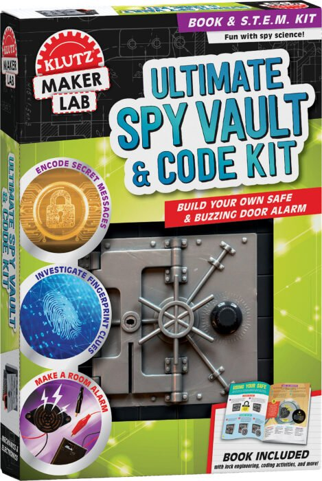 Klutz Ultimate Spy Vault and Code Key