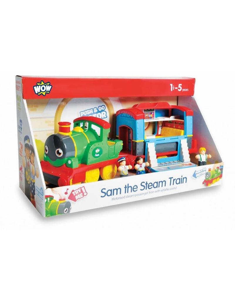 WOW Sam the Steam Train