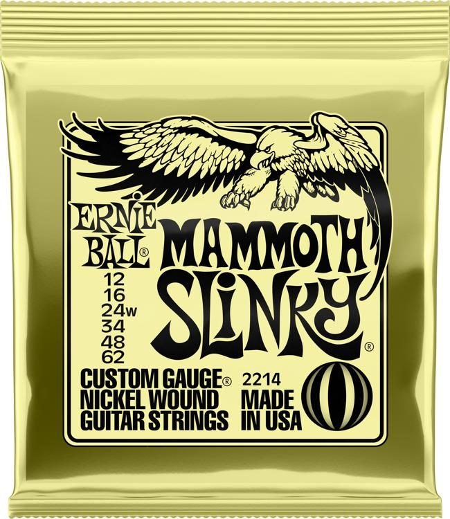 Ernie Ball 2214 Mammoth Slinky Electric Strings