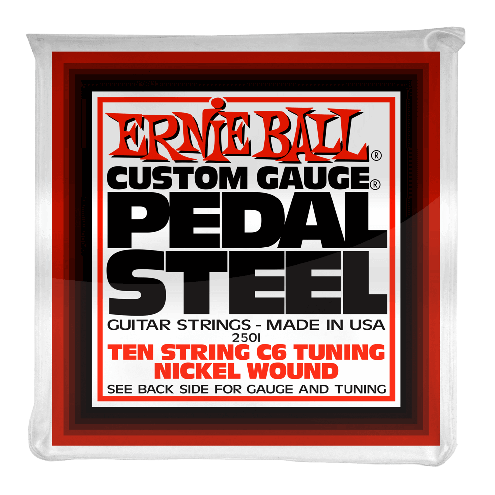 Ernie Ball Pedal Steel C6 Tuning