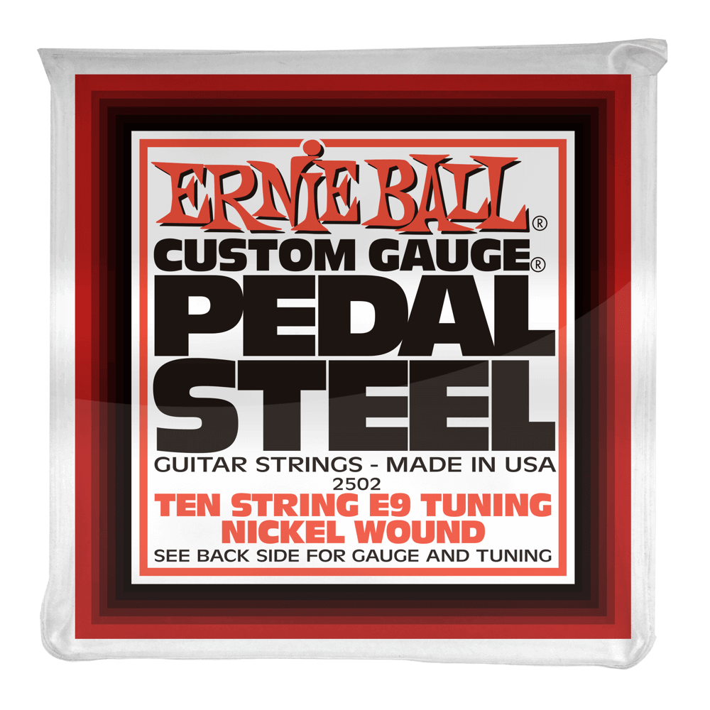 Ernie Ball Pedal Steel E9 Tuning 2502