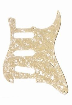 All Parts PG-0552-058 Cream Pearloid Pickguard For Strat