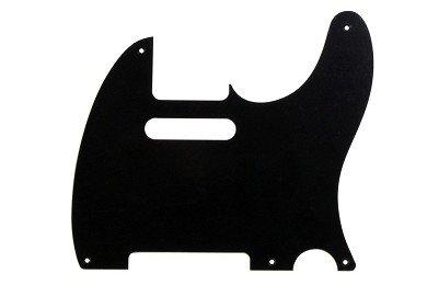 All Parts PG-0560-034 Black Matte Pickguard For Telecaster