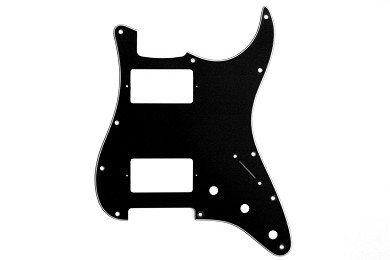 All Parts PG-9595-033 Black Pickguard For Strat, HH