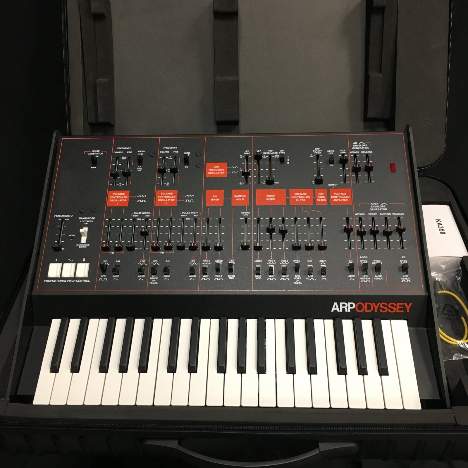Used ARP Odyssey with case