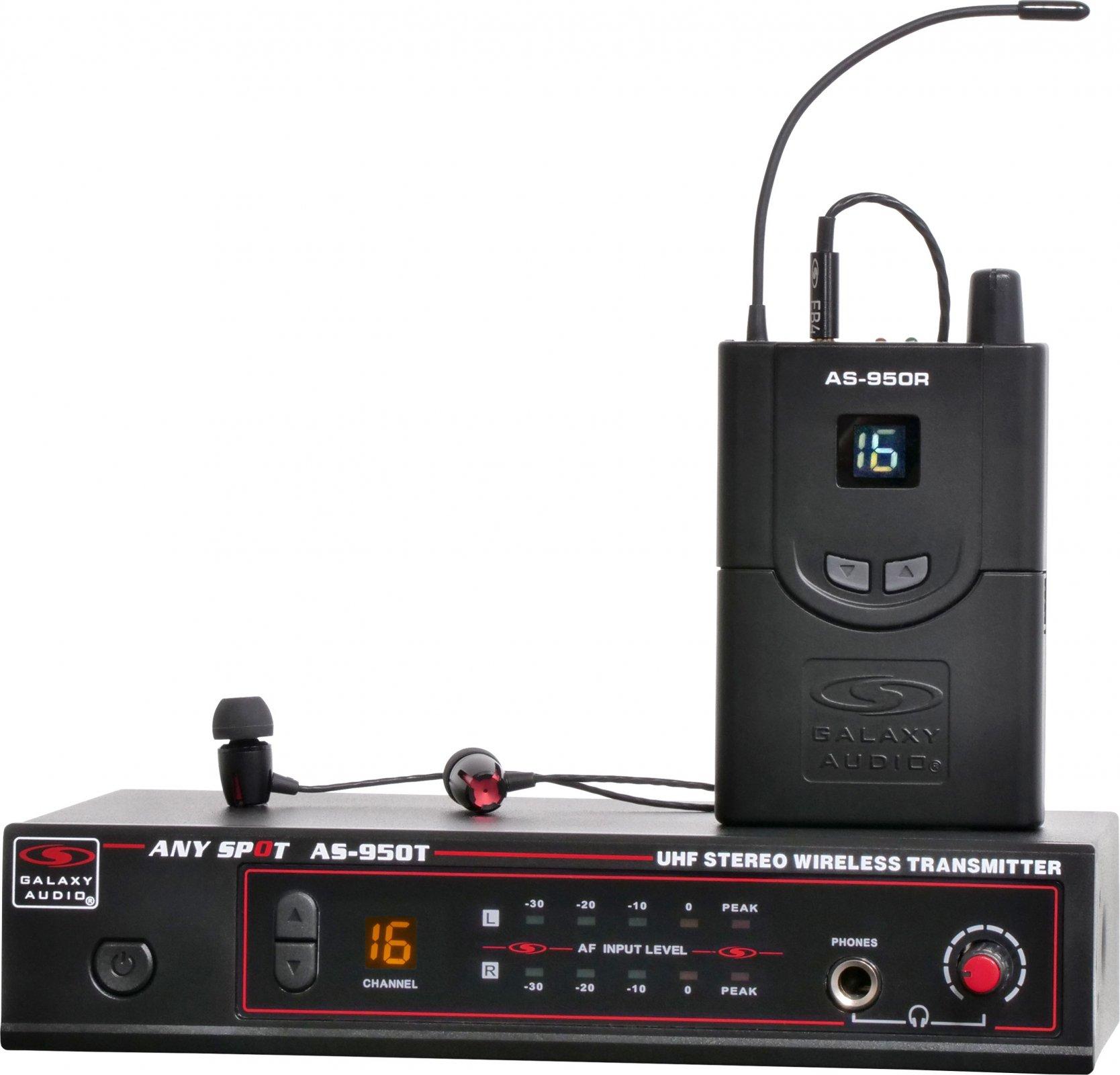 Galaxy AS-950 In Ear monitor