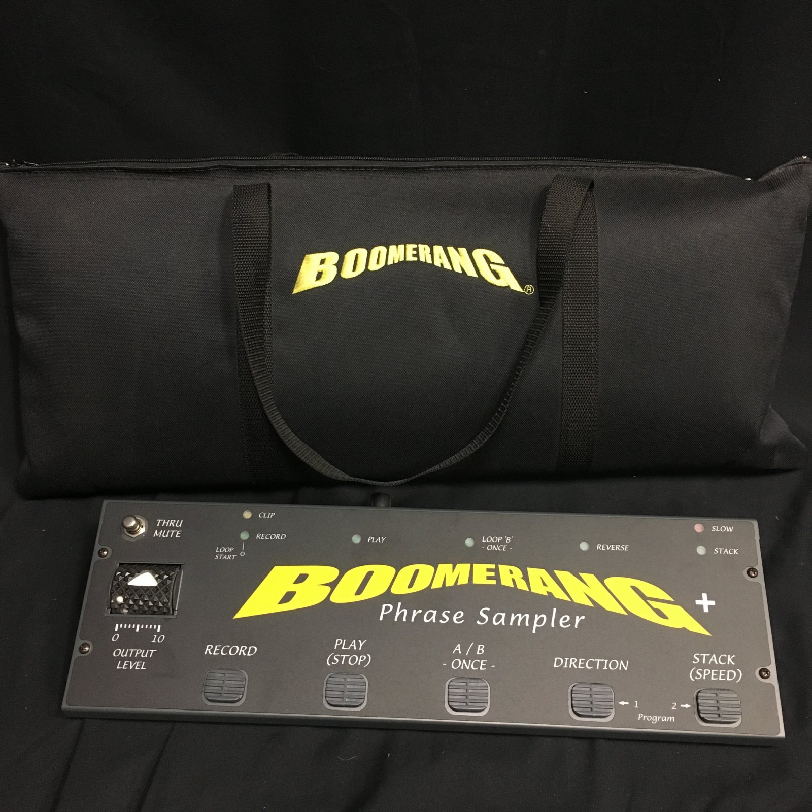 Used Boomerang looper with bag
