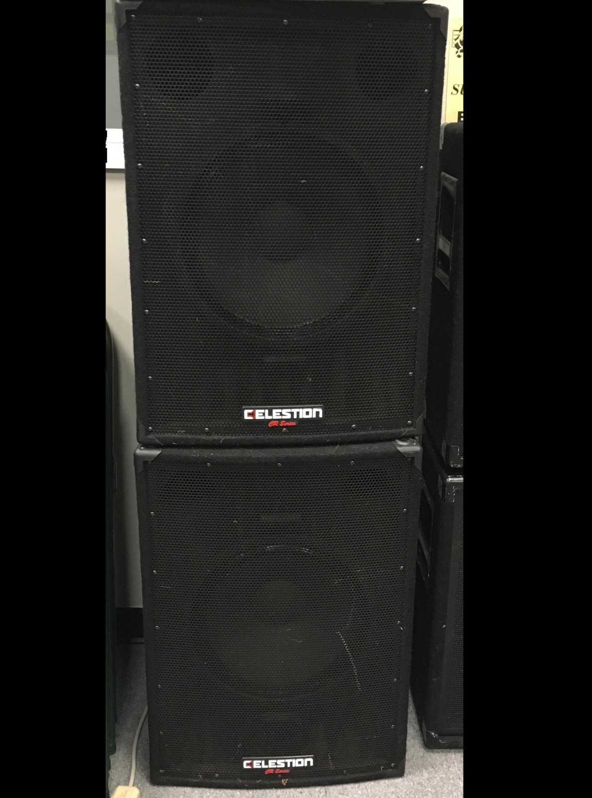 Used Celestian CR151X subs