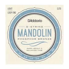 D'Addario EJ73 Mandolin PB Lit 10/38