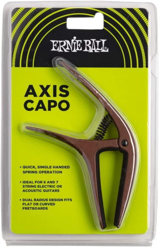 Ernie Ball Axis Dual Radius Capo, Bronze