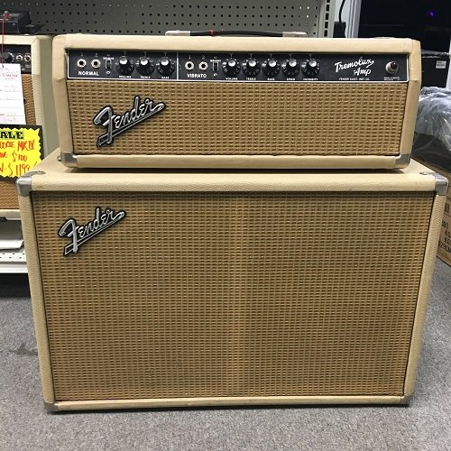 Used Fender Tremolux with cab