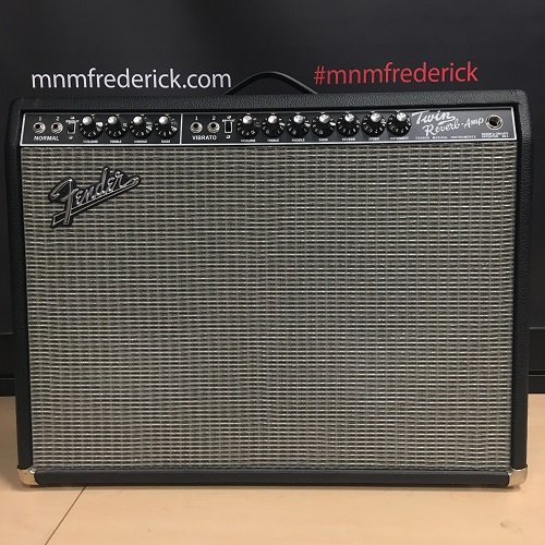Used Fender '65 Reissue Twin reverb w/ Cover
