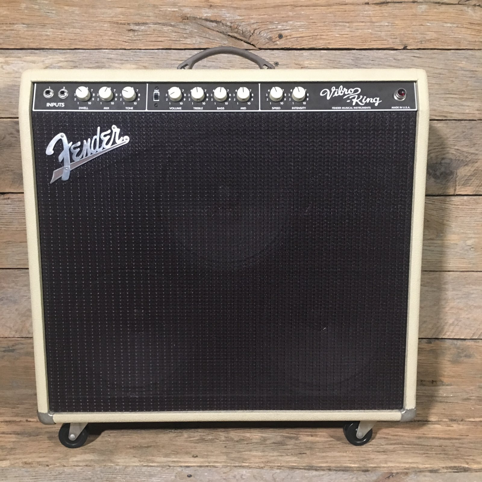 Used Fender Vibro King Amp W/Cover