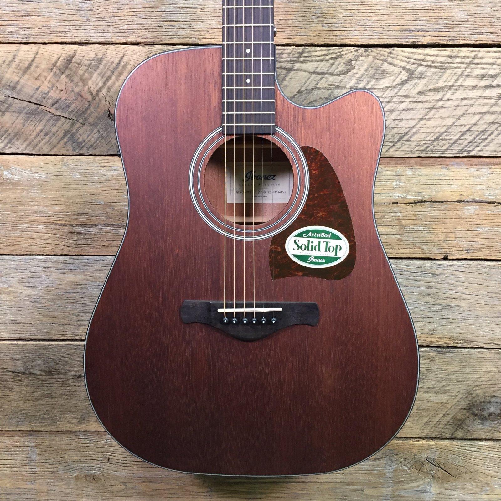 Ibanez AW54CEOPN AC/EL Guitar