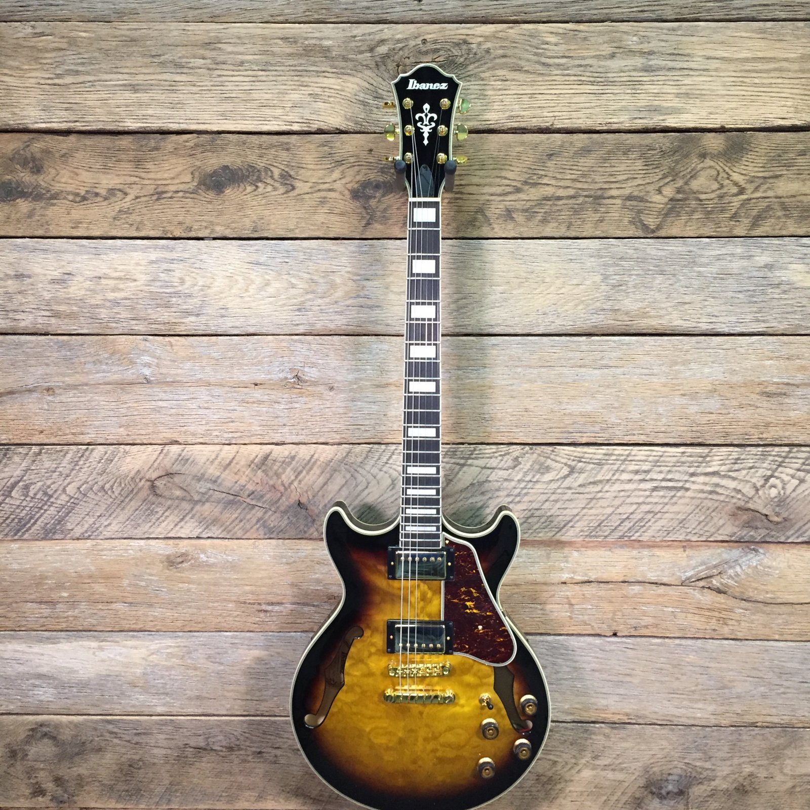 Ibanez AM93QM-AYS Hollow Body Guitar