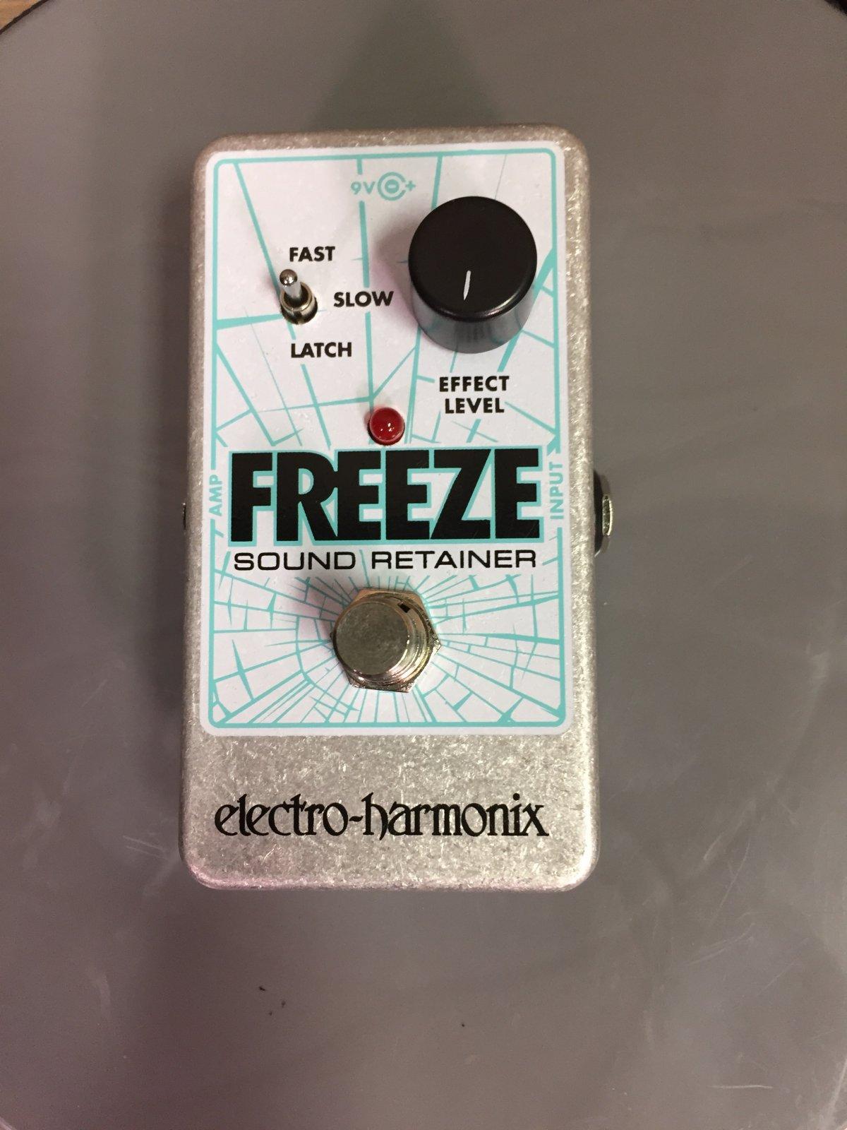 Electro Harmonix Freeze Sustain EFX