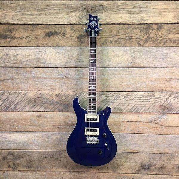 PRS SE Standard 24, Trans Blue W/Bag