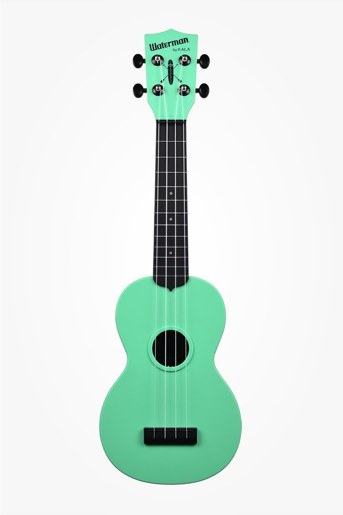 KALA KA-SWB-GN Waterman Sea Foam Green Matte Soprano